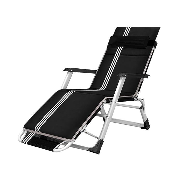 Amazon.com: Silla reclinable plegable Lazy Camping ...