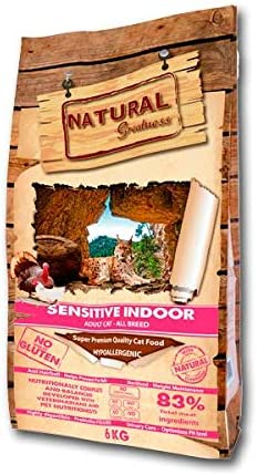 Natural Greatness Sensitive Indoor Alimento Seco Completo para ...