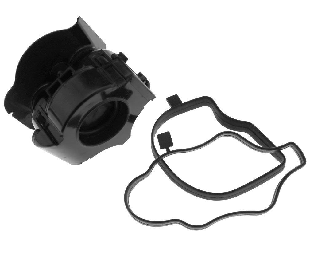 Amazon.com: Small Oil Catch Can Tank Crankcase Oil Separator Valve Filter For BMW E46 E90: Automotive