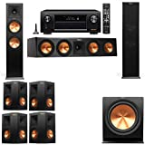 Klipsch RP-280F Tower Speakers-7.1-Denon AVR-X4100W