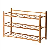 HPLL Storage Racks Solid Wood Home Dormitory Multilayer Shoes Rack Multi-functional Storage Assembly Shelf (Size : 704624cm)