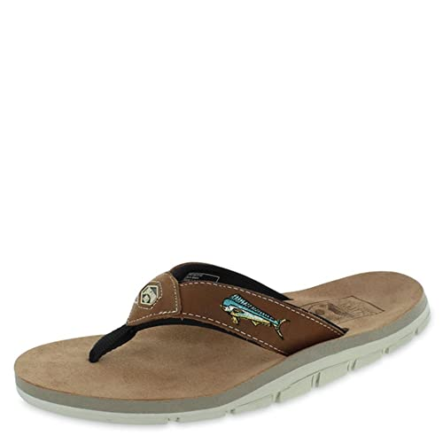 e0c8869a4a99 Island Slipper AKA Sandal - Brown Mahi - Men s Size 7