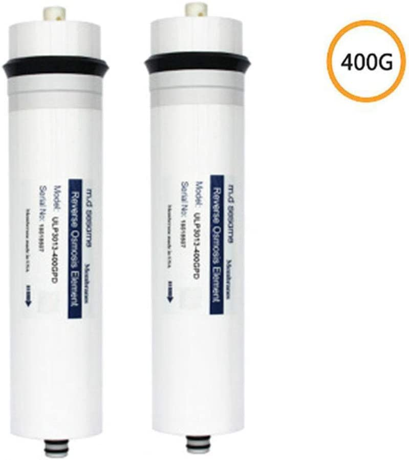 CHJ RO Membrane 3013-400G (2 Pcs) Household Water Purifier Filtration Reverse Osmosis Membrane Five-Stage Filtration System Filter Element