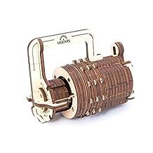 UGEARS 3D Mechanical Puzzle Combination Lock