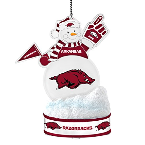 NCAA Arkansas Razorbacks LED Snowman - Razorbacks Arkansas Led