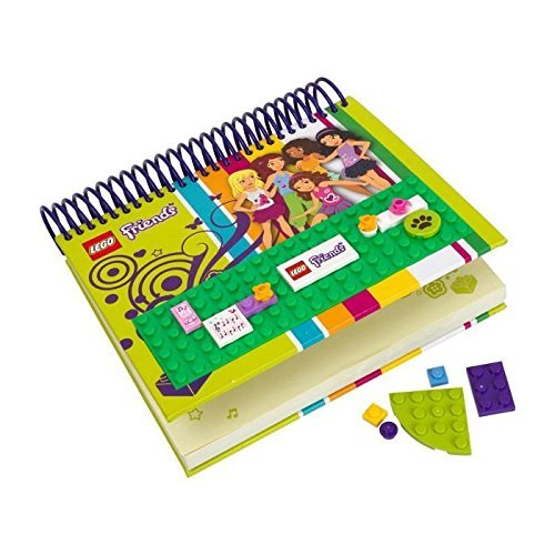 Lego Friends Notebook with Build and Decorate Cover #850595 (16 pcs)