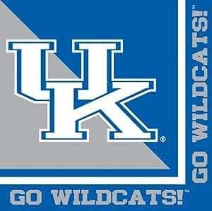 Creative Converting Kentucky Wildcats Luncheon Napkins (20 Count)