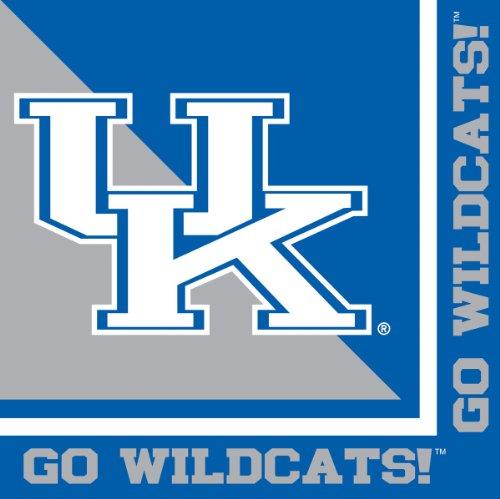 Kentucky Wildcats Lunch Napkins 20 Count