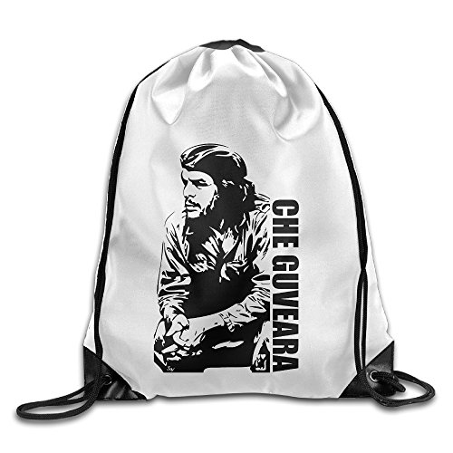 Bekey Che Cool Guevara Poster Gym Drawstring Backpack Bags For Men & Women For Home Travel Storage Use Gym Traveling Shopping Sport Yoga (Che Guevara Berets)