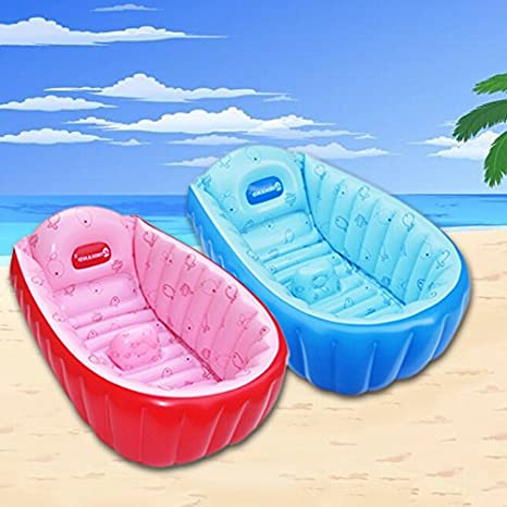 Fashion New bébé d'été de bain bébé doux Tube de bain de sécurité pour Voyage chendongdong