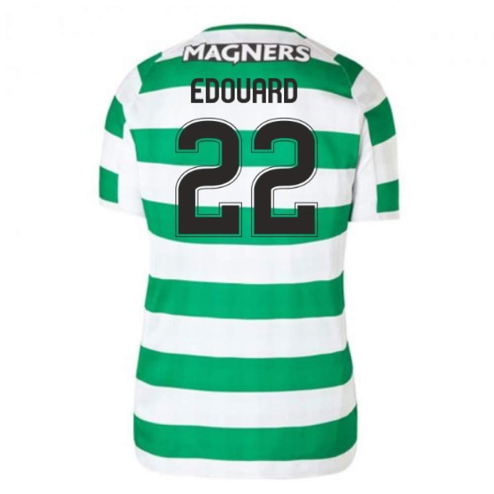 2018-2019 Celtic Home Ladies Football Soccer T-Shirt Trikot (Odsonne Edouard 22)