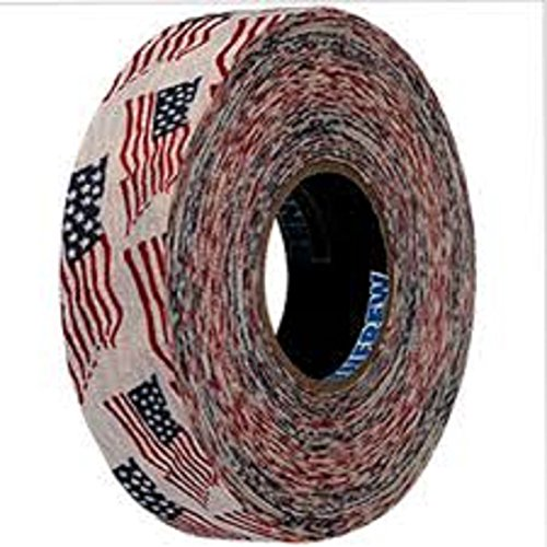Renfrew Scapa Tapes Renfrew Bright or Patterned Cloth Hockey Tape - 1 Inch - USA - 1 Inch -