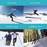 SNOWFEET Mini Ski Skates for Snow The Short
