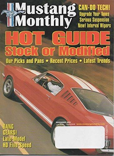 98 Saleen Mustang - Mustang Monthly Magazine, November 2001 (Vol. 24, No. 11)