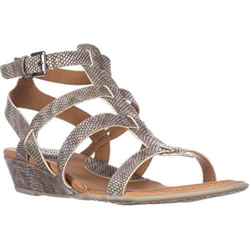 Concept O Sandals Wedge Grey Gladiator B Born by Low HEIDI Womens C n4xwZI
