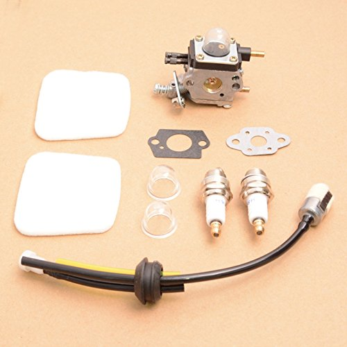 E-accexpert Replacement C1U-K54A Carburetor with Air Filter Repower Kit for 2-Cycle Mantis 7222 7222E 7222M 7225