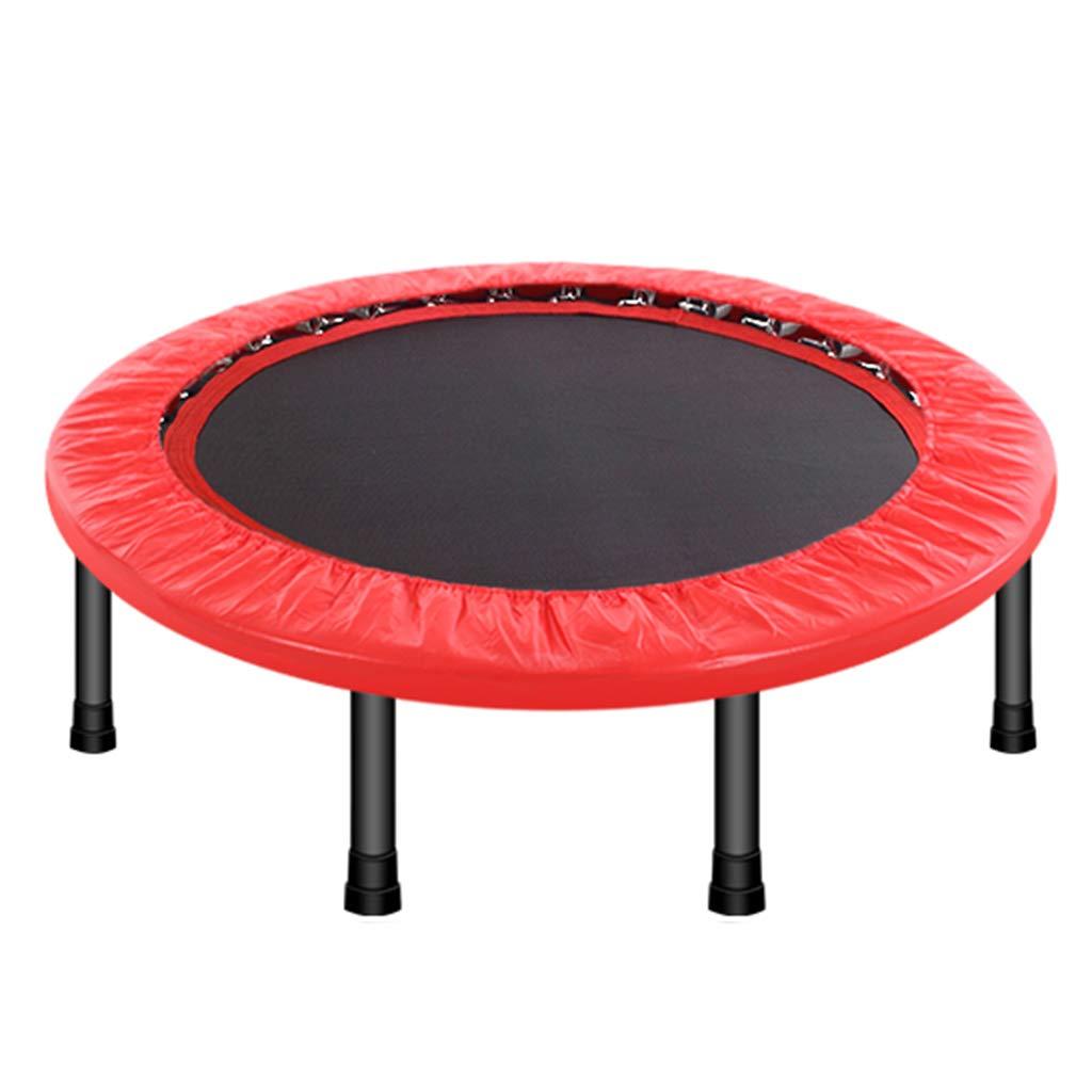 Indoortrampoline Trampolin-Innentrampolin Faltendes Trampolin Für Erwachsene Fitness-Trampolin-Innensport-Gewichtsverlust-Turnhalle (Größe : 101  101  27cm)