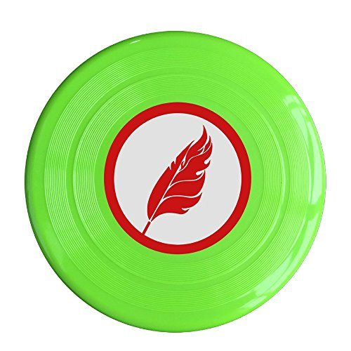 YYHU - Plastic Ruby Feather Logo Ultimate Sport Disc - KellyGreen