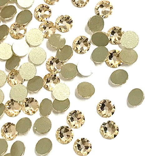 (144 pcs Silk (391) Swarovski 2058 Xilion / NEW 2088 Xirius 20ss Flat backs Rhinestones 5mm ss20)