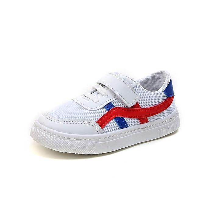 YanHoo Zapatos para niños Zapatos de Malla para Hombres y Mujeres Zapatos Deportivos Zapatos Casuales Zapatos Estudiante Malla Deporte Zapatillas de Deporte ...