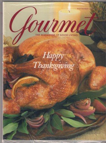 GOURMET MAGAZINE NOVEMBER 2001