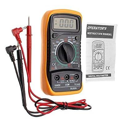JZK XL830L Digital Multimeter Voltmeter/Ammeter OHM Multimeter AC DC/Rods with diode