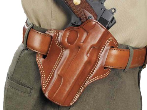 Galco Combat Master Belt Holster for H&K USP 45 (Tan, Right-hand) (H&k Usp Mount)