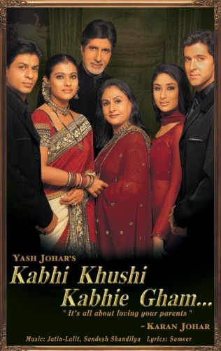 Kabhi Khushi Kabhie Gham Bollywood DVD With English Subtitles