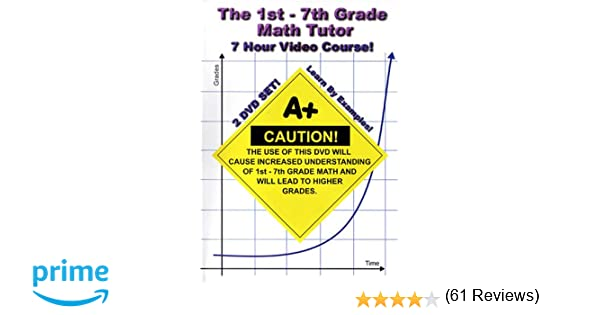 Amazon.com: The 1st - 7th Grade Math Tutor - 7 Hour Course! - 2 ...