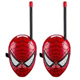 The Amazing Spider-Man Spiderman Homecoming Walkie Talkies for Kids Static Free Extended Range Kid Friendly Easy to Use 2 Way Walkie Talkies
