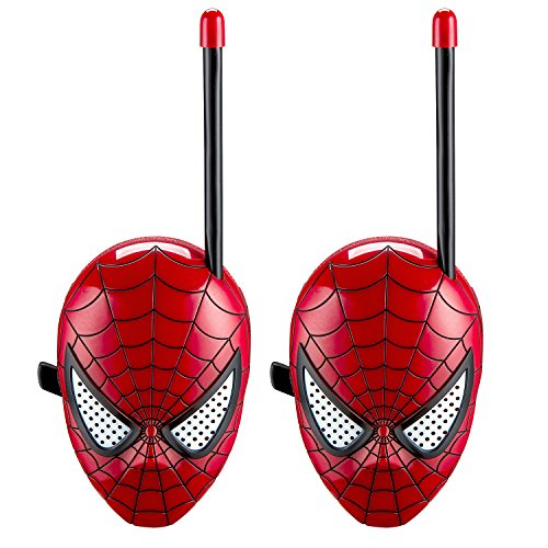 The Amazing Spider-Man Spiderman Homecoming Walkie Talkies for Kids Static Free Extended Range Kid Friendly Easy to Use 2 Way Walkie Talkies by The Amazing Spider-Man