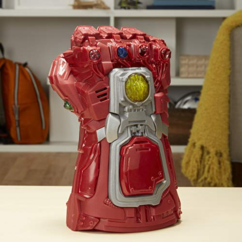 51UtHmUB5ZL - Avengers Marvel Endgame Red Infinity Gauntlet Electronic Fist Roleplay Toy with Lights and Sounds for Kids Ages 5 and Up