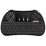 Eliker P9 Mini 2.4GHz Wireless Touchpad Keyboard for PC, Pad, Google Android TV Box, Smart TV, HTPC, IPTV,Raspberry pi 3, XBOX 360, PS3