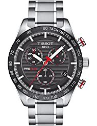 Tissot PRS 516 Chronograph Stainless Steel Mens Swiss Watch T1004171105101