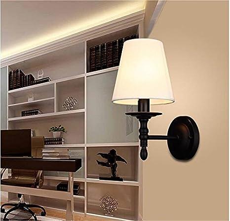 YU-K Semplice camera da letto Vintage lampada da parete creative ...