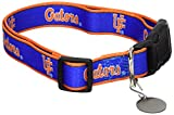 NCAA Florida Gators Dog Collar, Medium/Large  - New Design