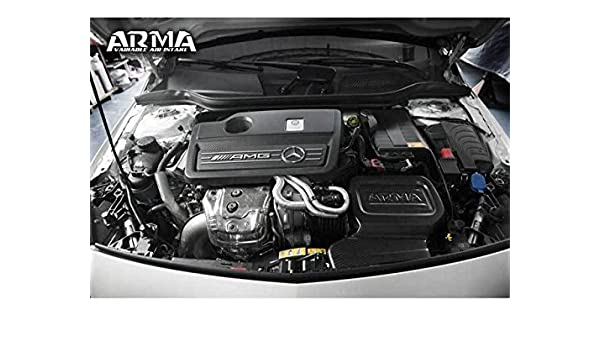 Amazon.com: Mercedes W176 AMG A45 W117 CLA45 GLA45 AMG Hyper-Flow Carbon Air Intake System: Automotive