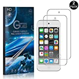 iPod Touch 5th / 6th Tempered Glass Screen Protector, UNEXTATI® Premium HD [Easy Install] [Anti-Fingerprint] Screen Protector Film for iPod Touch 5th / 6th (2 PACK)