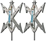 X-Chock Wheel Stabilizer - Pair - One Handle