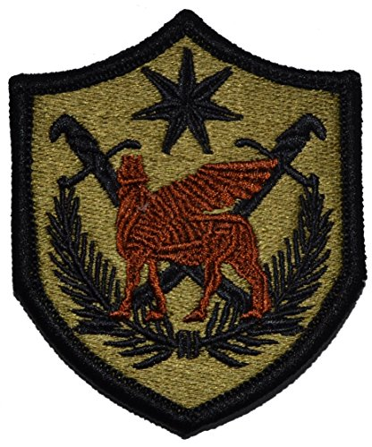 Multi-National Force Iraq Scorpion OCP Patch with Fastener
