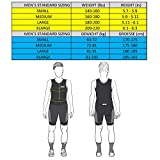 SLS3 Men`s Triathlon Suit with Sleeves | Mens Short Sleeve Aero Tri Suit FX | 2 Pockets Trisuit | Soft Chamois | 2019 German Designed