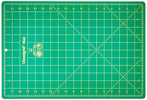Omnigrid 12-Inch-by-18-Inch Gridded - Scissors Omnigrid