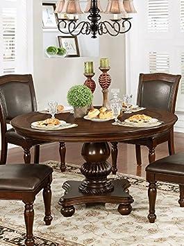 Merveilleux Alpena (Marron Bois De Cerisier Round Table De Salle à Manger Par Meubles Du0027