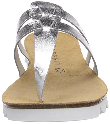 Silber 075 Silver Silver mujeres Kendra Tangas ESPRIT para Mules x1waZWqf