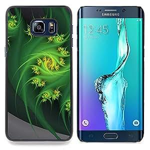Stuss Case / Funda Carcasa protectora - Remolino abstracto del fractal arte de la naturaleza - Samsung Galaxy S6 Edge Plus / S6 Edge+ G928