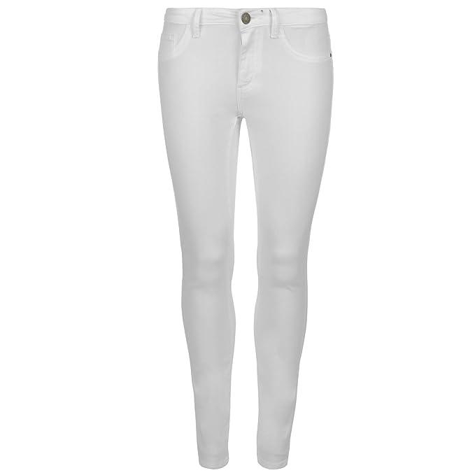 JDY Mujer Five Pantalones Vaqueros Ropa Vestir Casual Blanco ...