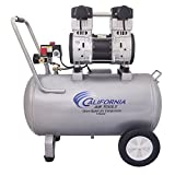 California Air Tools 15020C-22060 Ultra Quiet and Oil-Free 2.0 HP 15.0-Gallon Steel Tank Air Compressor