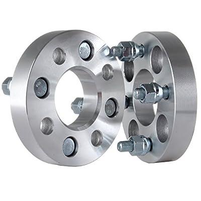 cciyu 4 Lug 25mm Wheel Spacers 4x100mm 1 inch 4x100 to 4x100 12x1.5 Studs60.1mm CB 4set fit for Chevrolet Chevette Honda CRX Honda Civic Honda Accord Mazd: Automotive