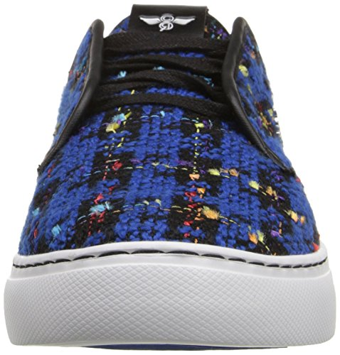 Creative Recreation Men's Lacava Q Fashion Sneaker Black/Blue Jacquard Plaid outlet choice amazing price sale online buy cheap clearance store OTN36