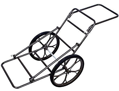Folding Deer Cart Game Hauler Utility Hunting Accessories Gear Dolly Cart -